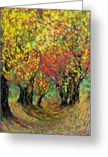 Fall Impression Greeting Card