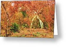 Fall Impression Greeting Card