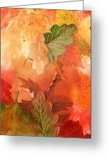 Fall Impressions V Greeting Card