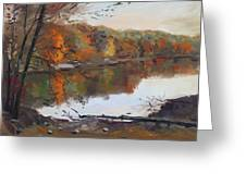Fall In 7 Lakes Greeting Card