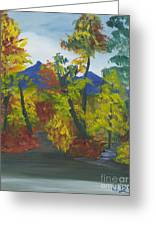 Fall In All Its Glory Greeting Card