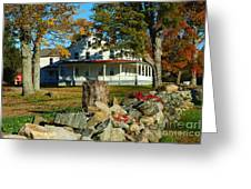 Fall In Connecticut Greeting Card
