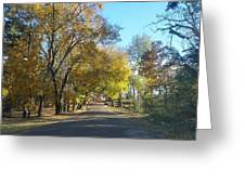 Fall In East Texas Greeting Card
