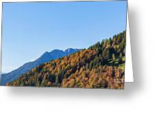 Fall In Gstaad Greeting Card