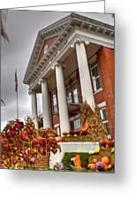 Fall In Jonesborough Tennessee Greeting Card