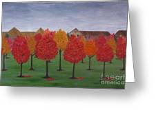 Fall In Markham Greeting Card
