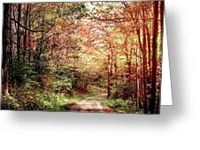 Fall In Monongalia County Greeting Card
