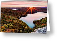 Fall In Northern Vermont Greeting Card