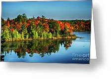 Fall In Northern Wisconsin Greeting Card