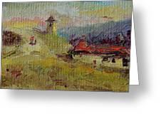 Fall In Orheiul Vechi Greeting Card