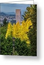Fall In Portland Or 2 Greeting Card
