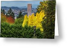 Fall In Portland Or Greeting Card