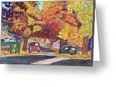 Fall In Santa Clara Greeting Card