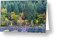 Fall In Spokane Greeting Card