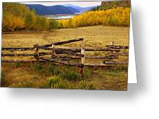 Fall In The Rockies 2 Greeting Card