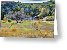Fall In The Texas Hill Country Greeting Card