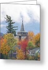 Fall In Upstate New York Greeting Card
