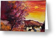 Fall In Villers Greeting Card