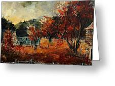 Fall In Vivy Greeting Card
