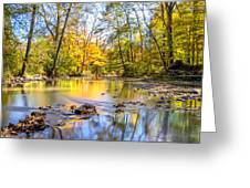 Fall In Wisconsin Greeting Card by Steven Santamour