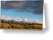 Fall In Wyoming Greeting Card