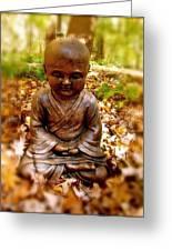 Fall Meditation Greeting Card