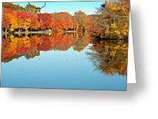 Fall Morning In East Lyme 1 Greeting Card