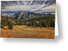 Fall Mountain Greeting Card