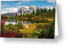 Fall Mountain View Greeting Card