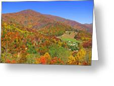 Fall Mountains  Greeting Card