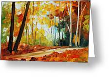 Fall New Greeting Card
