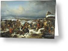 Fall Of Kolberg Greeting Card