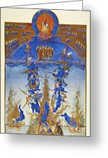 Fall Of Rebel Angels Greeting Card