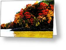 Fall On Grand Lake Greeting Card