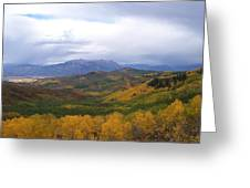Fall On Mcclure Pass Greeting Card