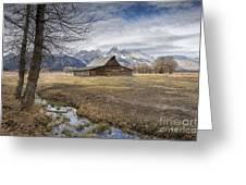 Fall On Mormon Row - Grand Teton National Park Greeting Card