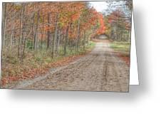 9018 - Fall On Murphy Lake Iv Greeting Card