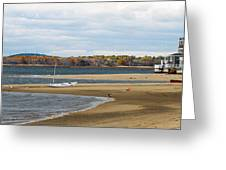 Fall On Plum Island Greeting Card