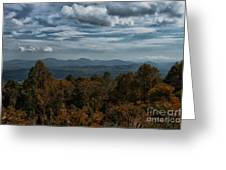 Fall On The All American Road Greeting Card