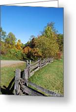 Fall On The Farm Greeting Card