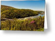 Fall On The Shenandoah River - West Virginia Greeting Card
