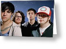 Fall Out Boy Greeting Card