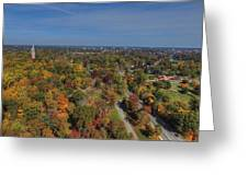 Fall Over Richmond Greeting Card