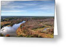 Fall Over Swift Creek Greeting Card