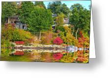 Fall Paradise Greeting Card