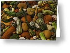 Fall Pile Greeting Card