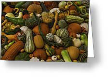 Fall Pile Greeting Card