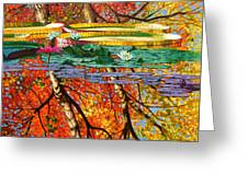 Fall Reflections 2 Greeting Card