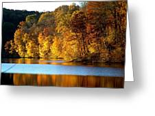 Fall Reflections Of Indiana Greeting Card