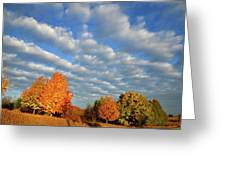 Fall Sunrise Over Hackmatack Nwr Greeting Card